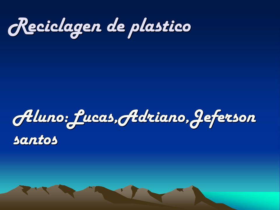 Reciclagen de plastico