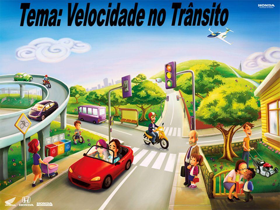 Tema: Velocidade no Trânsito