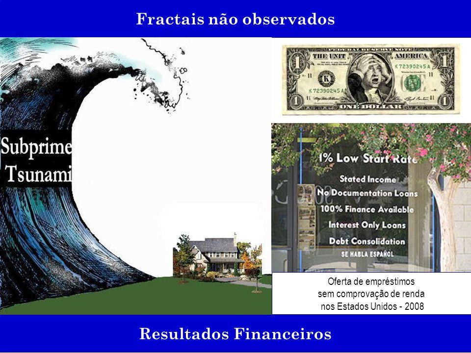 Fractais não observados Resultados Financeiros