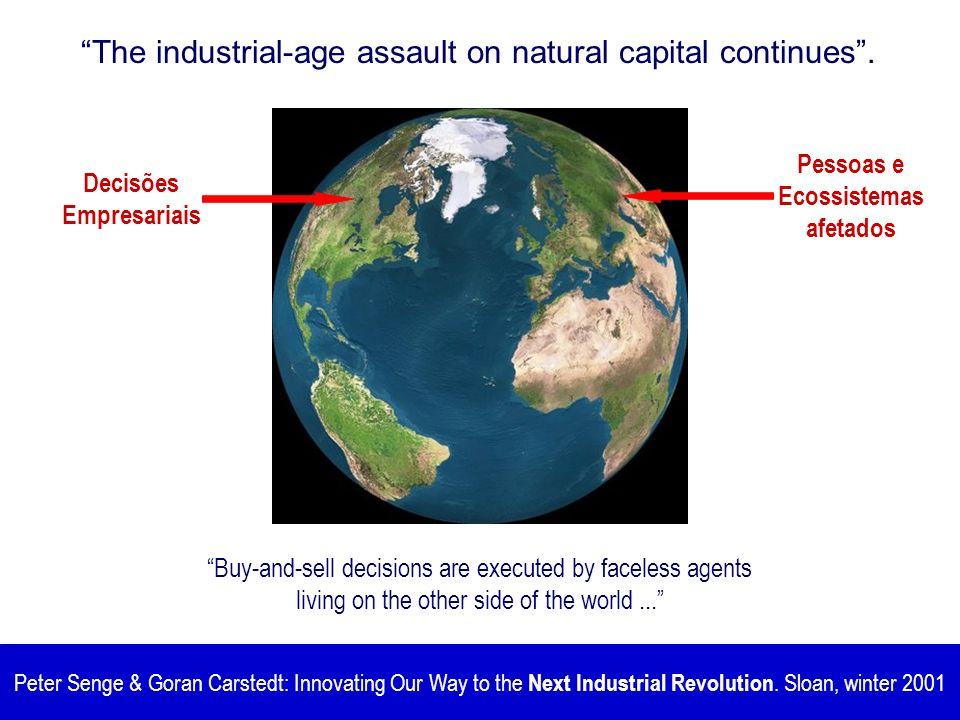 Pessoas e Ecossistemas afetados Decisões Empresariais