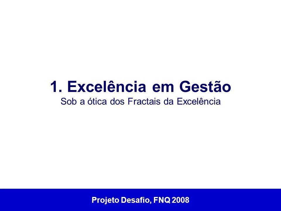 1. Excelência em Gestão Sob a ótica dos Fractais da Excelência