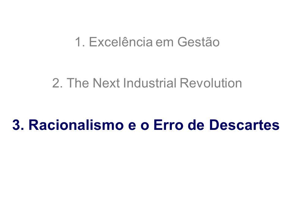 3. Racionalismo e o Erro de Descartes