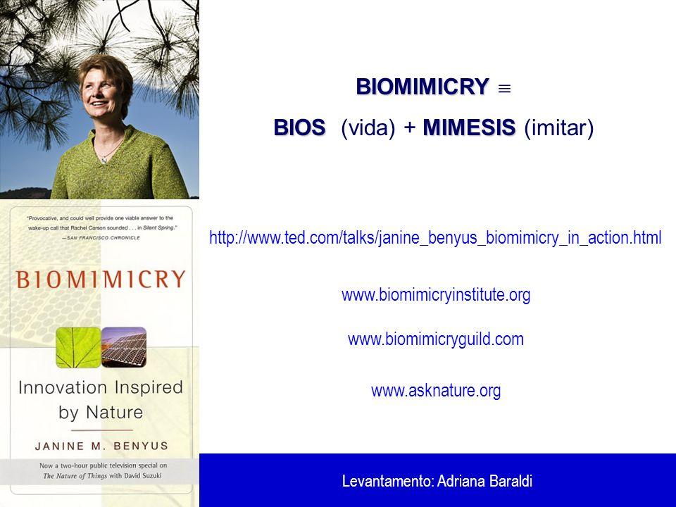 BIOS (vida) + MIMESIS (imitar)