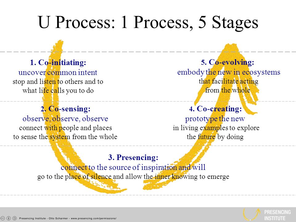 U Process: 1 Process, 5 Stages