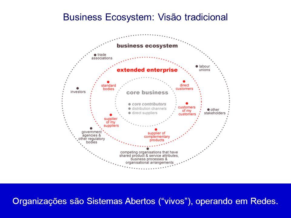Business Ecosystem: Visão tradicional