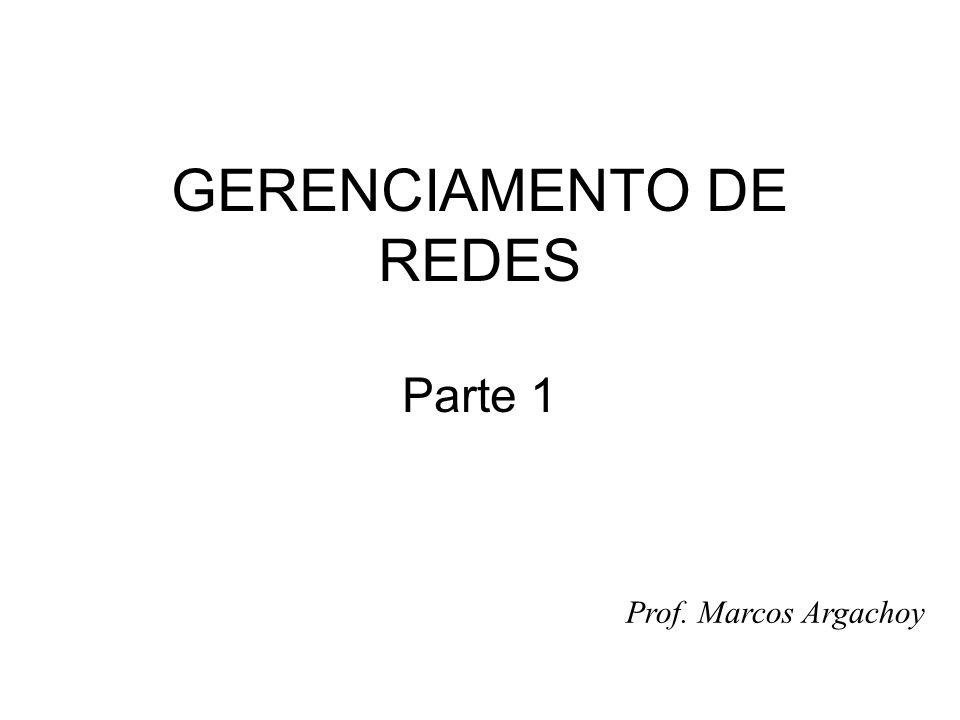 GERENCIAMENTO DE REDES Parte 1