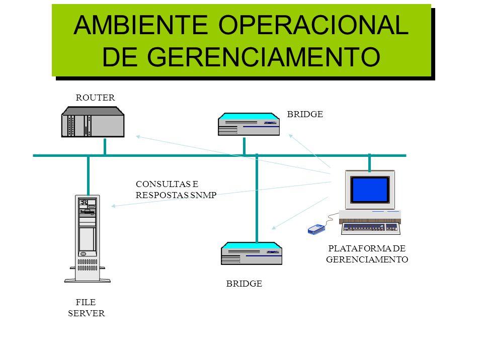 AMBIENTE OPERACIONAL DE GERENCIAMENTO