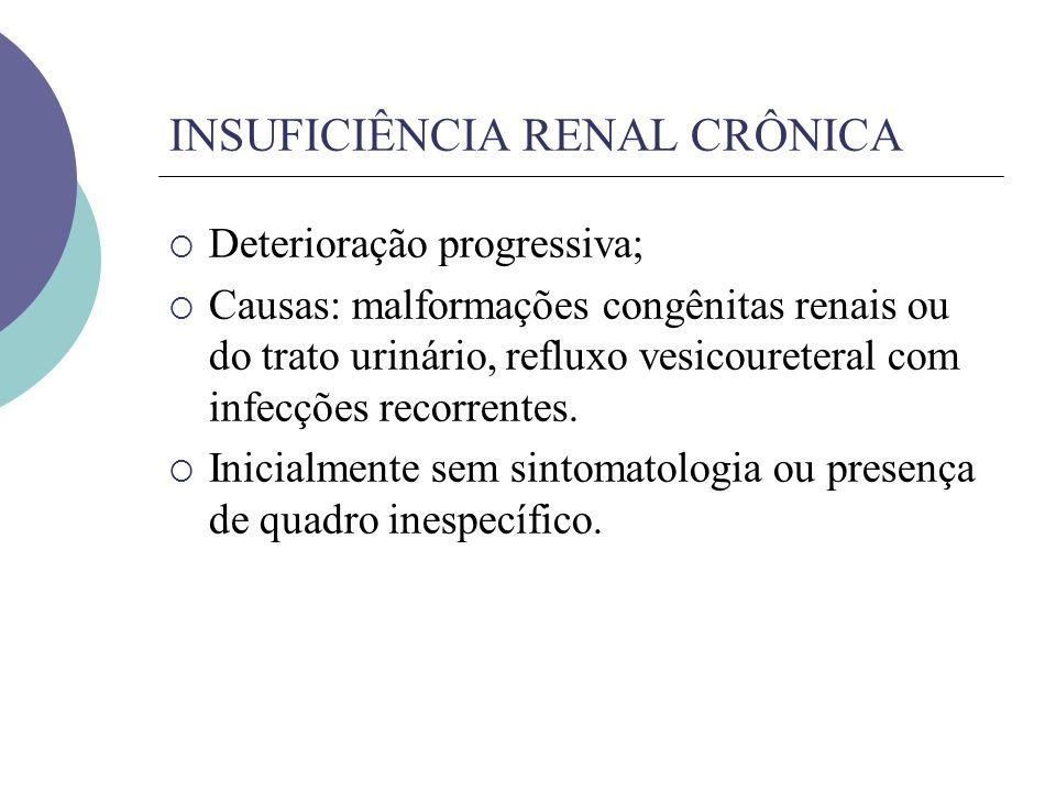 INSUFICIÊNCIA RENAL CRÔNICA
