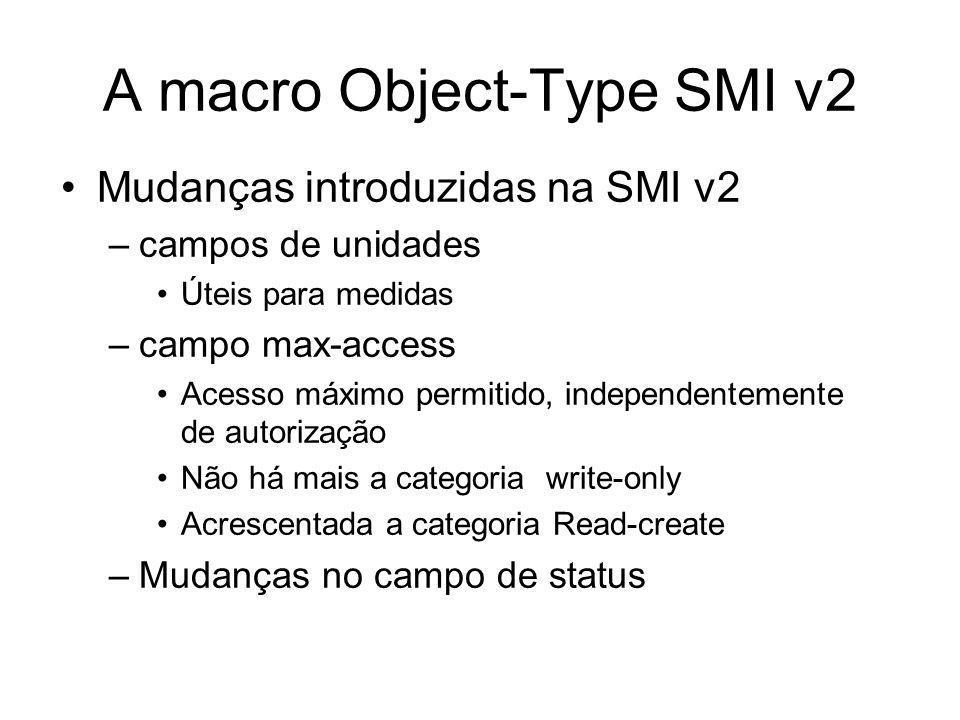 A macro Object-Type SMI v2