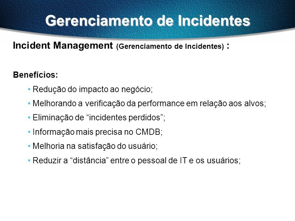 Gerenciamento de Incidentes