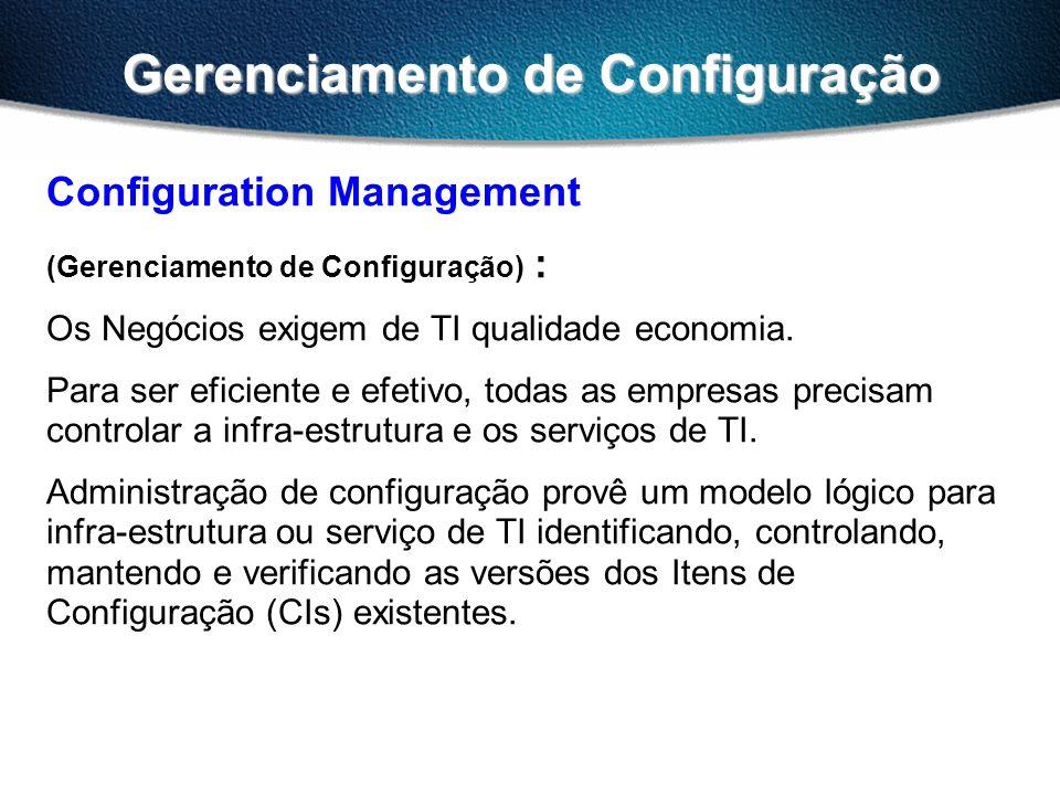 Gerenciamento de Configuração