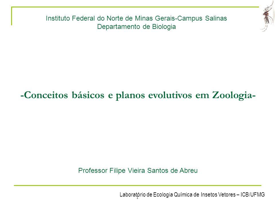 -Conceitos básicos e planos evolutivos em Zoologia-