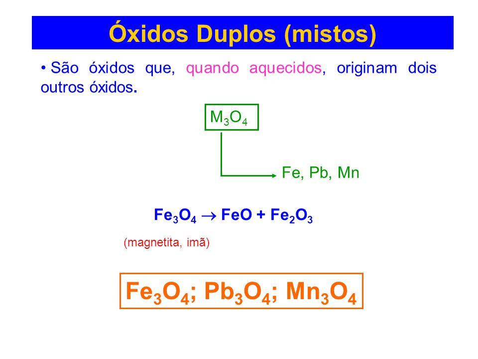 Óxidos Duplos (mistos)