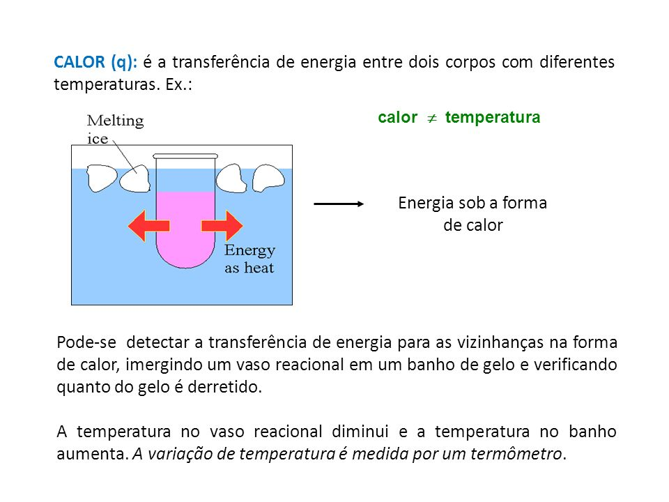 Energia sob a forma de calor