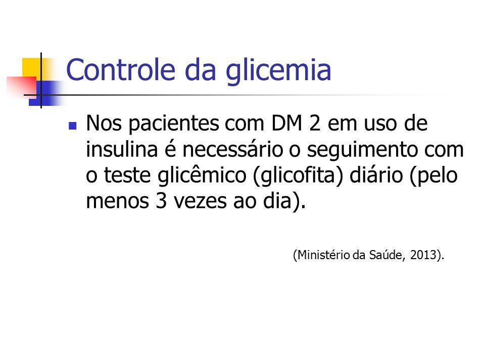 Controle da glicemia