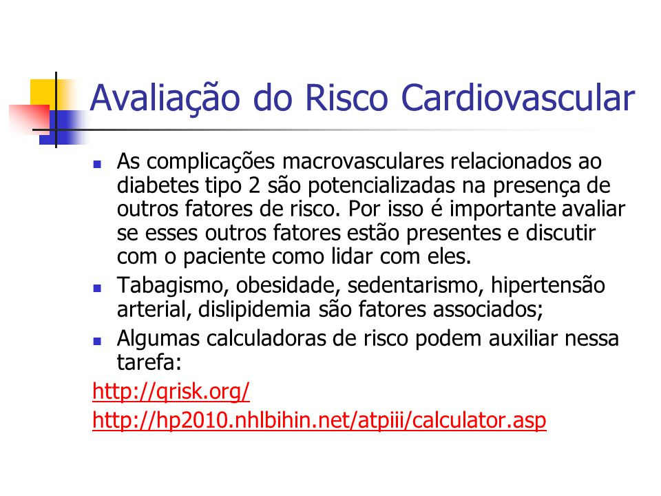 Avaliação do Risco Cardiovascular