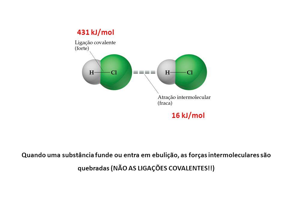 431 kJ/mol 16 kJ/mol.