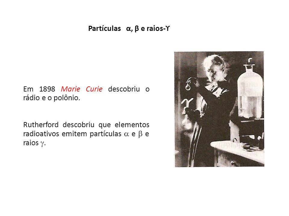 Partículas α, β e raios-ϒ