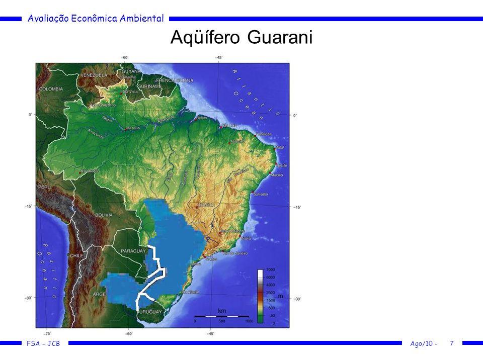 Aqüífero Guarani http://pt.wikipedia.org/wiki/Aqu%C3%ADfero_Guarani
