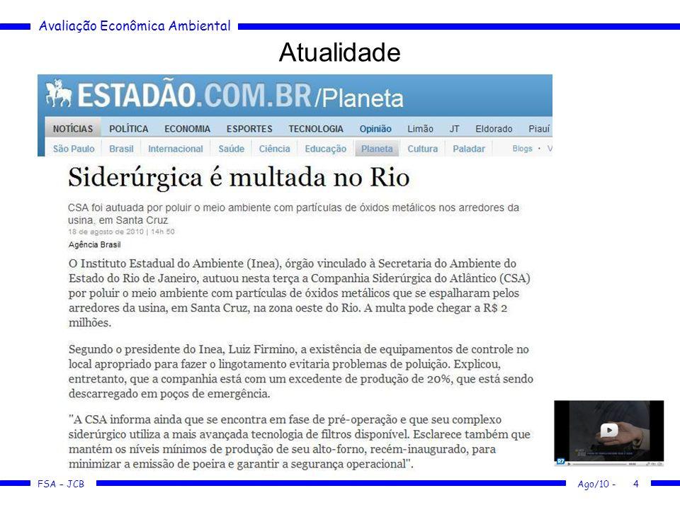 Atualidade Ago/10 -