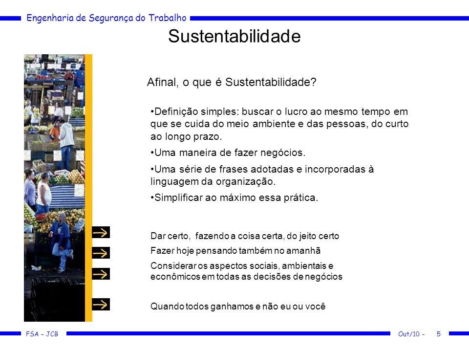 Sustentabilidade Afinal, o que é Sustentabilidade