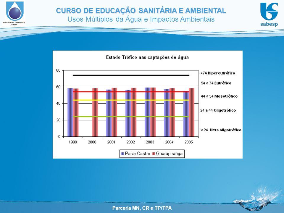 Consequências da eutrofização artifical