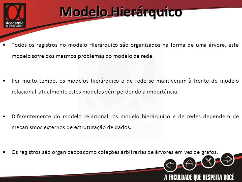 Modelo Hierárquico