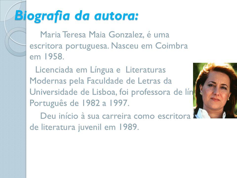 Biografia da autora: