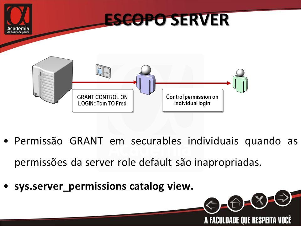 Escopo Server