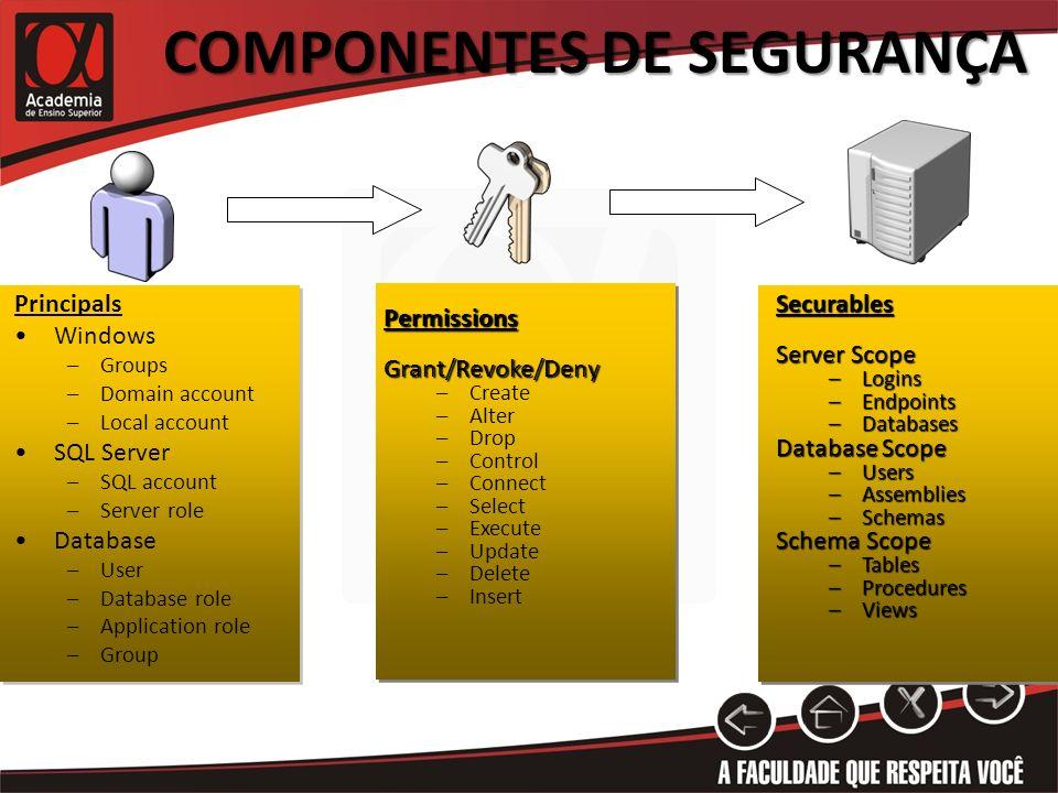 Componentes dE Segurança