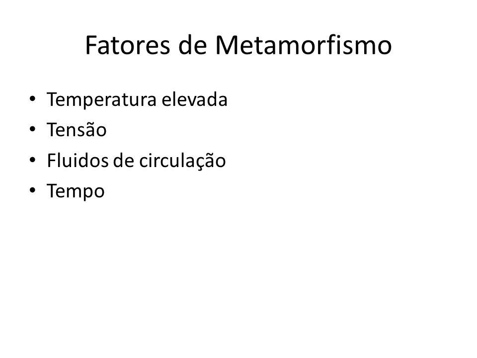 Fatores de Metamorfismo