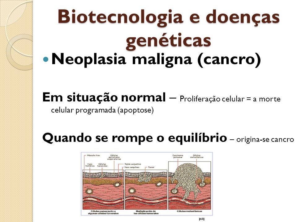 Biotecnologia e doenças genéticas