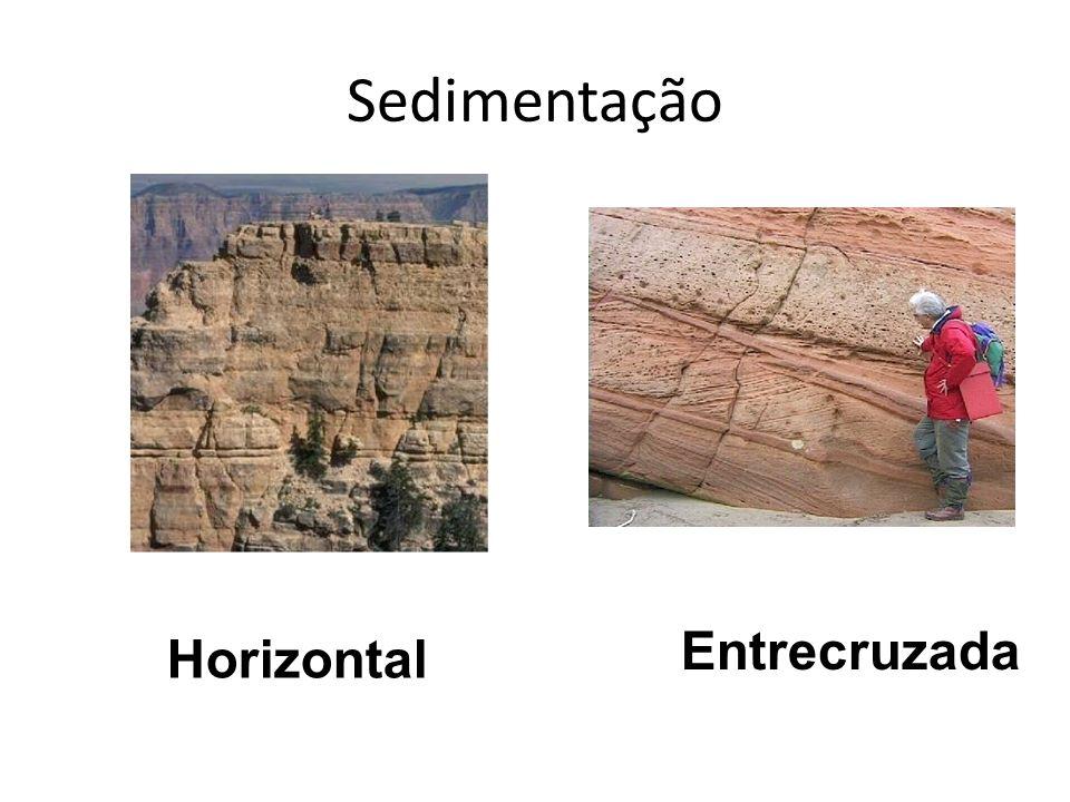 Sedimentação Entrecruzada Horizontal