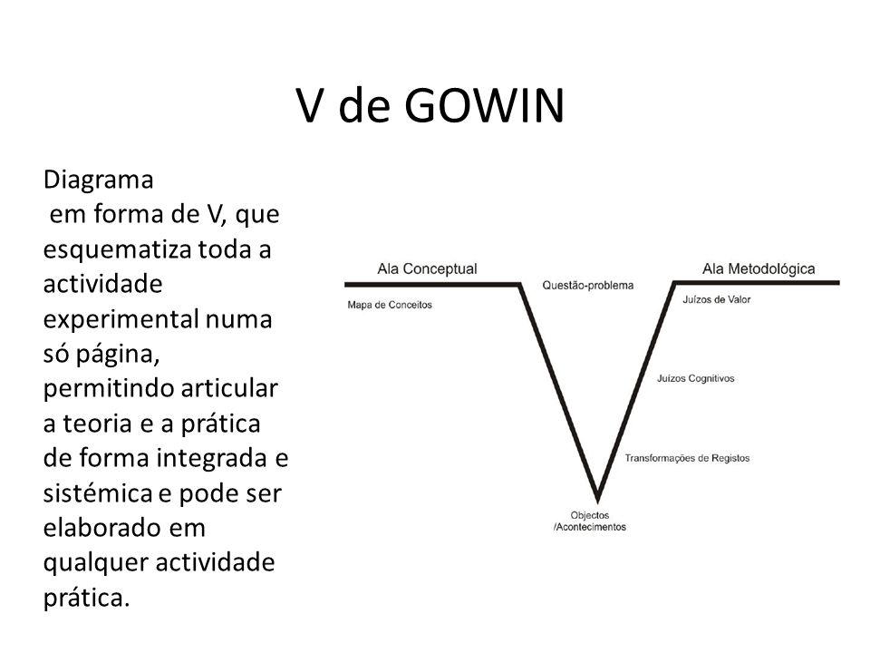V de GOWIN Diagrama.