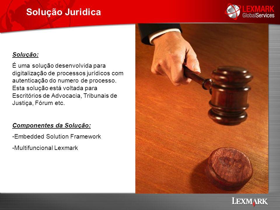 Solução Juridica Solução: