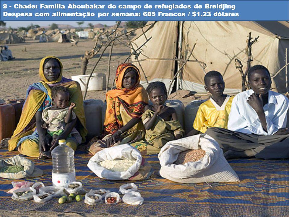 9 - Chade: Família Aboubakar do campo de refugiados de Breidjing