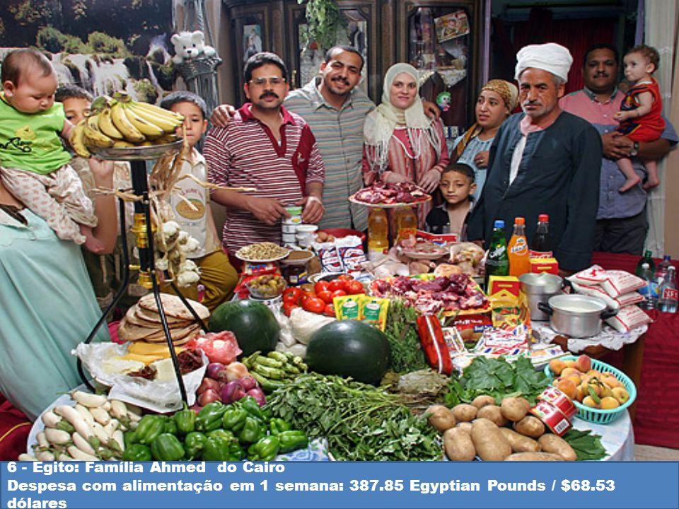 6 - Egito: Família Ahmed do Cairo