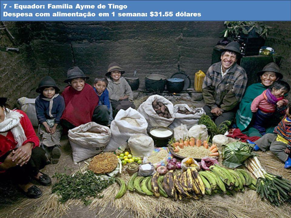 7 - Equador: Família Ayme de Tingo
