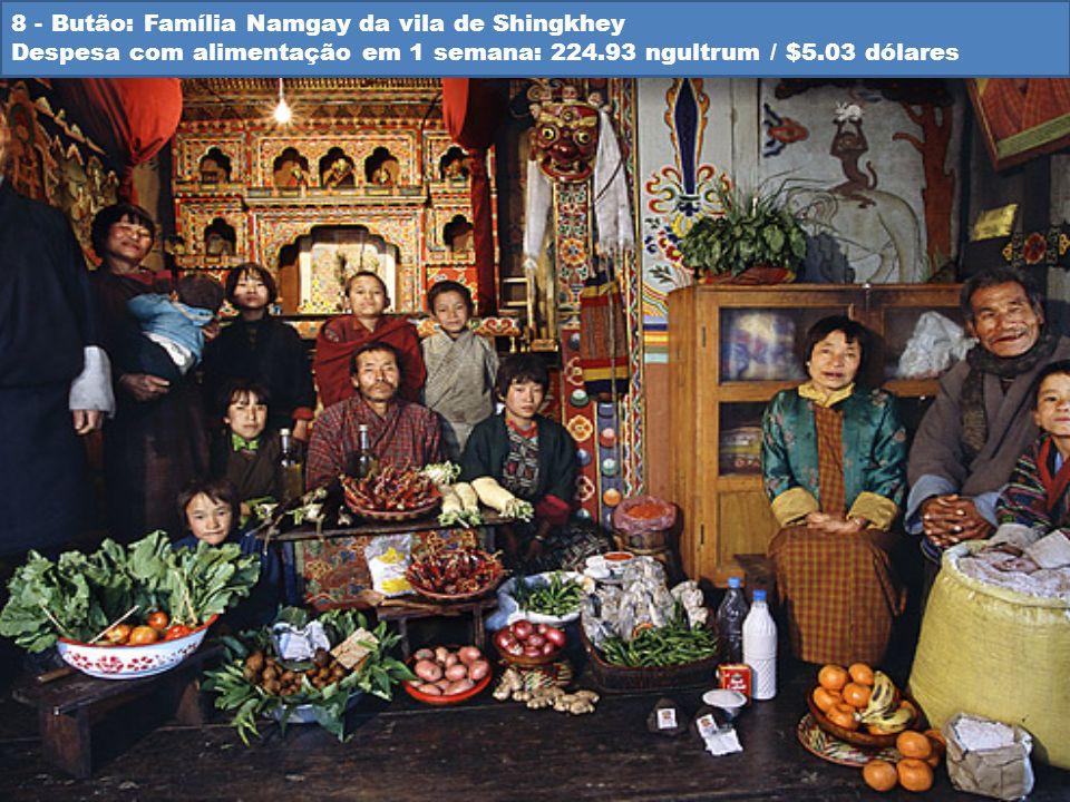 8 - Butão: Família Namgay da vila de Shingkhey