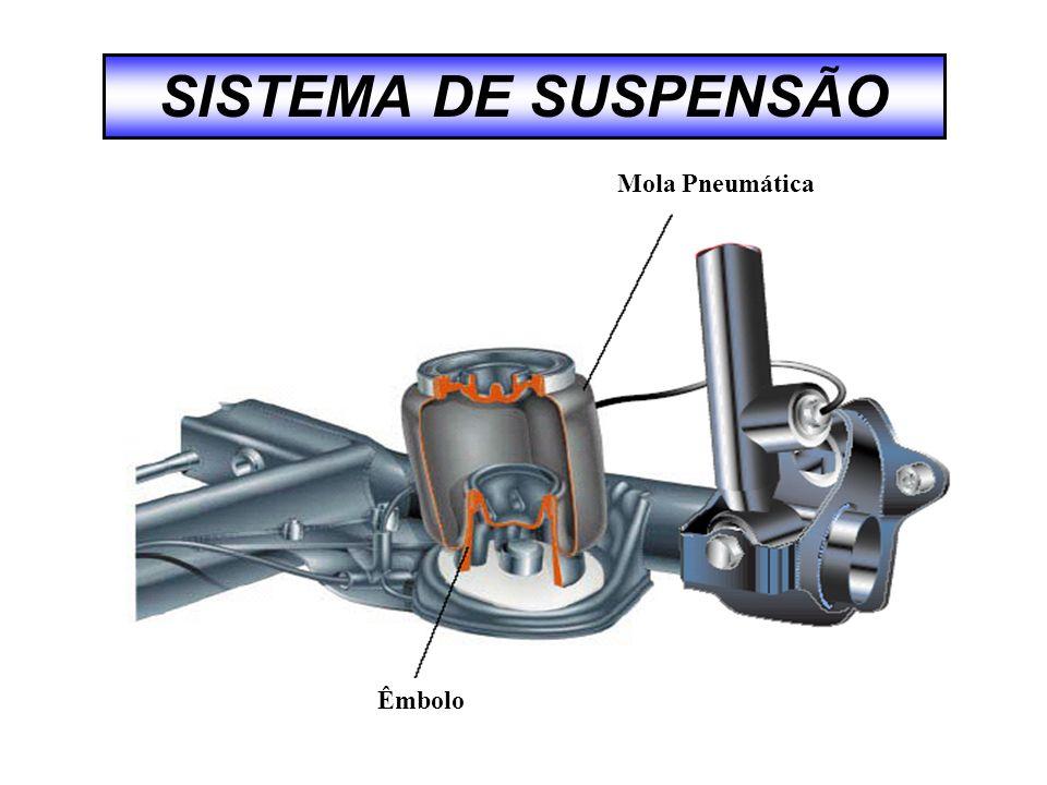 SISTEMA DE SUSPENSÃO Êmbolo Mola Pneumática