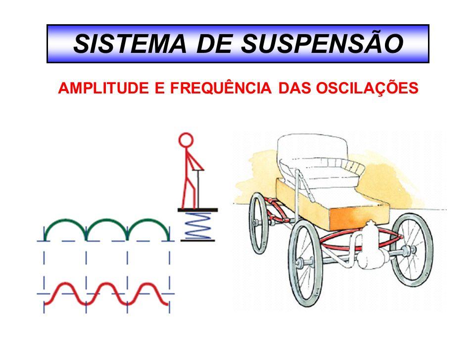 AMPLITUDE E FREQUÊNCIA DAS OSCILAÇÕES