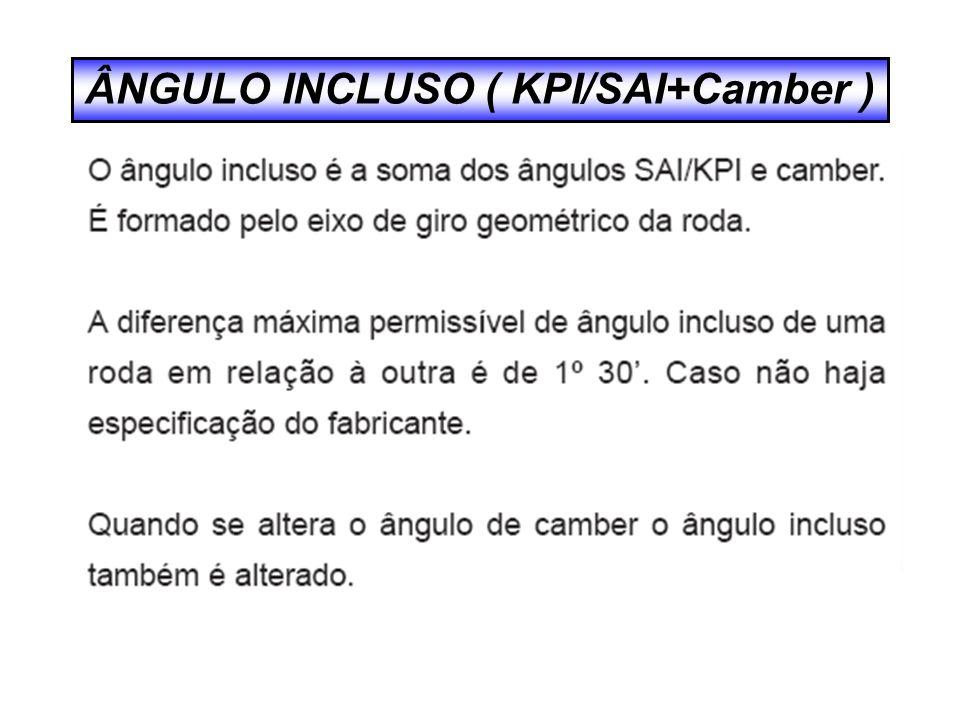 ÂNGULO INCLUSO ( KPI/SAI+Camber )