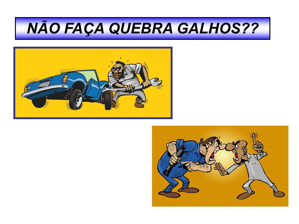 NÃO FAÇA QUEBRA GALHOS