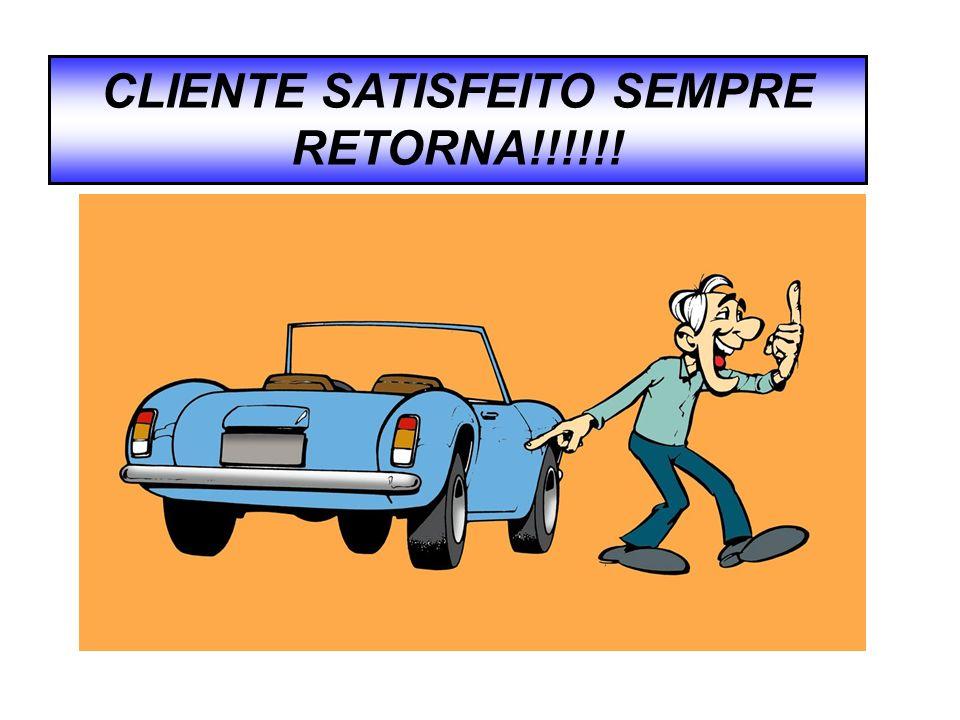 CLIENTE SATISFEITO SEMPRE RETORNA!!!!!!