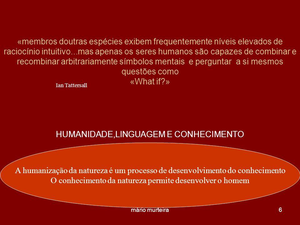 HUMANIDADE,LINGUAGEM E CONHECIMENTO