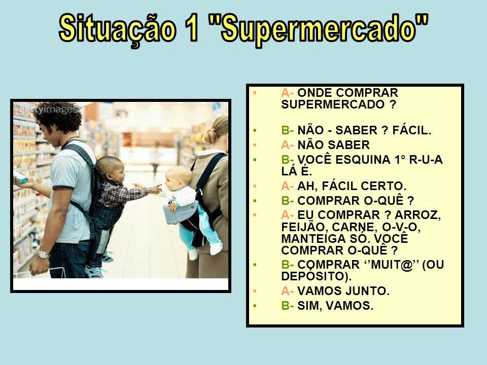 Situação 1 Supermercado
