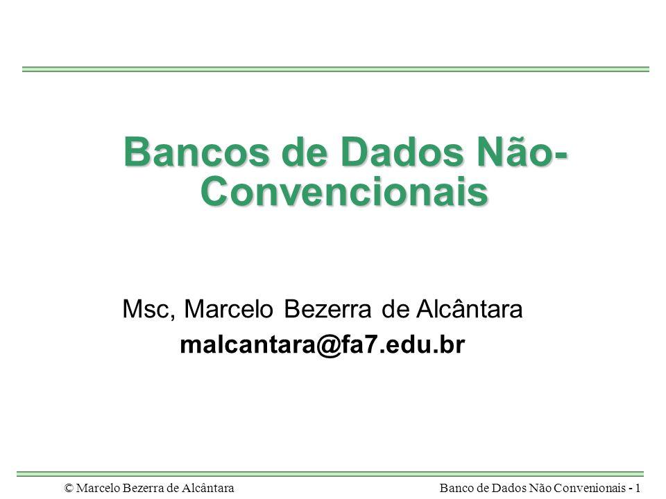 Bancos de Dados Não-Convencionais