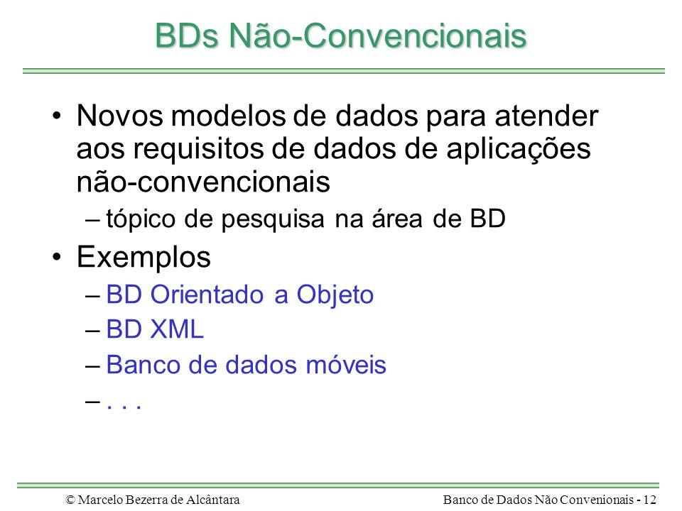 BDs Não-Convencionais