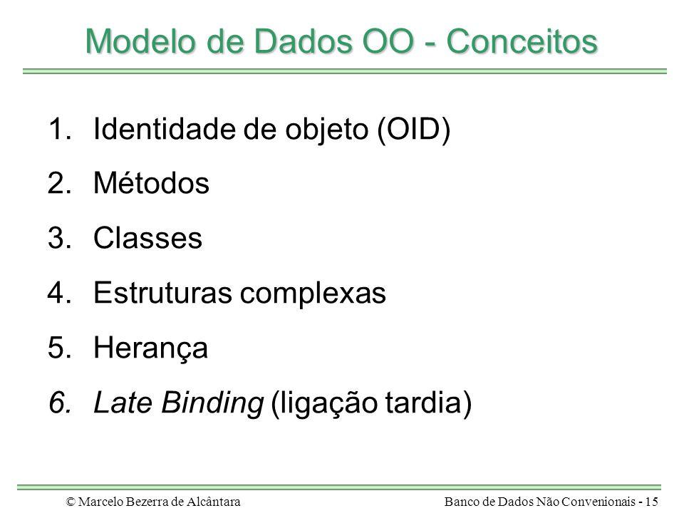 Modelo de Dados OO - Conceitos