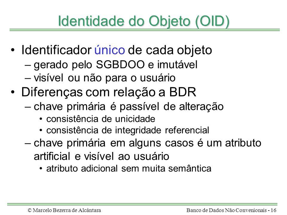 Identidade do Objeto (OID)